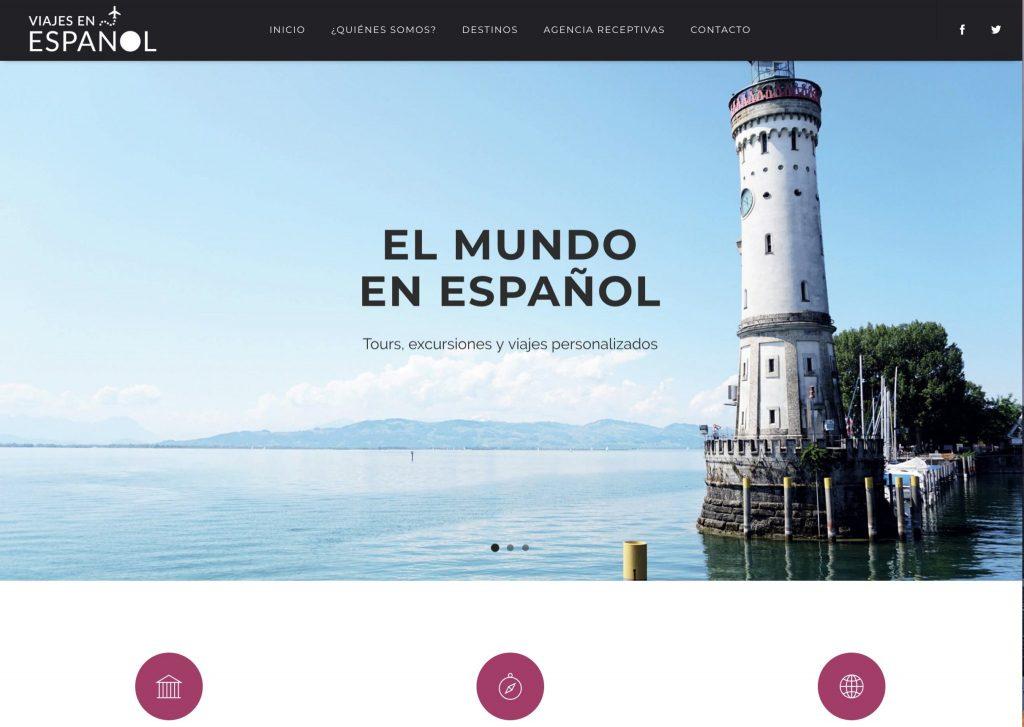 Web de Viajes en español - Colombia. /www.viajesenespanol.co